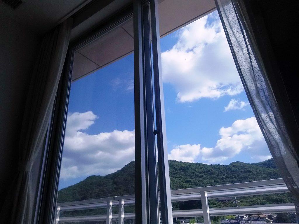 病室からの眺め