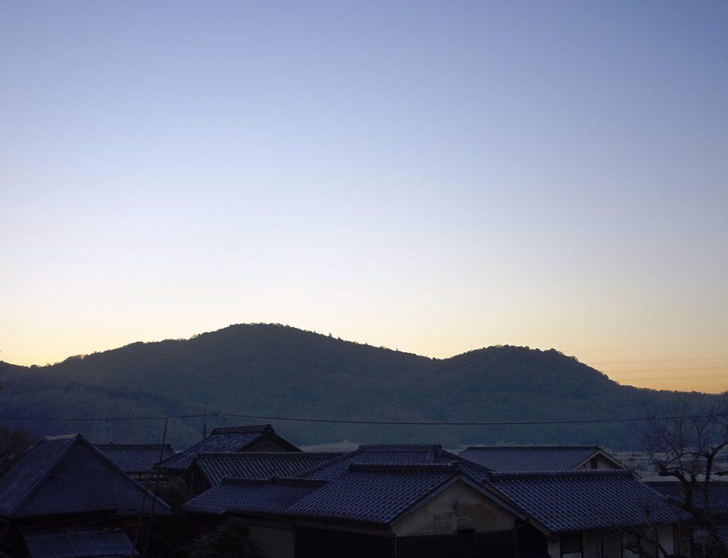 大寒 日の出