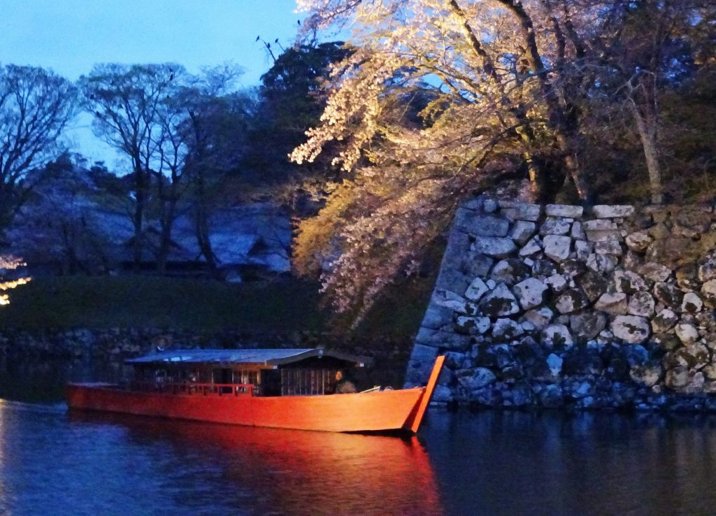 彦根城屋形船