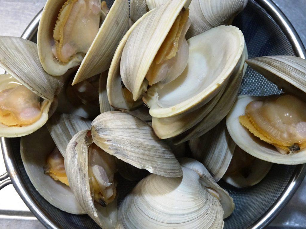 貝の下味後