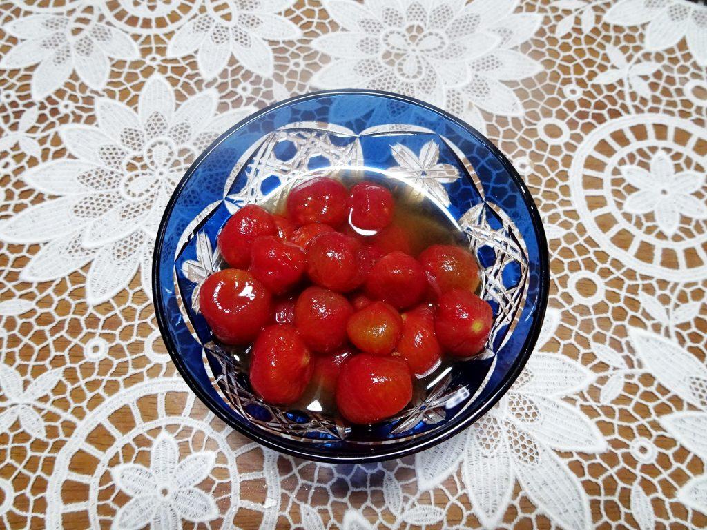 プチトマトレモンシロップ漬け